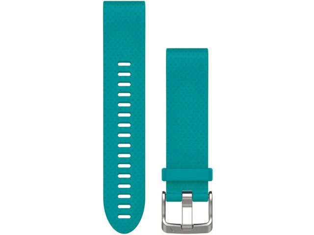 Garmin fenix 5S Silicone Bracelet QuickFit 20mm, turquoise